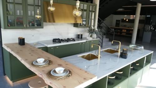 Cocinas Calacatta Boheme